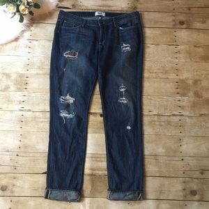 Paige Jimmy Jimmy Skinny Distressed Jeans Size 30